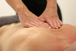 deep tissue massage cork